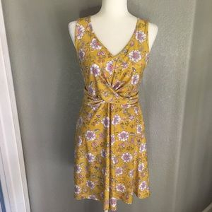 NWT candies yellow floral dress
